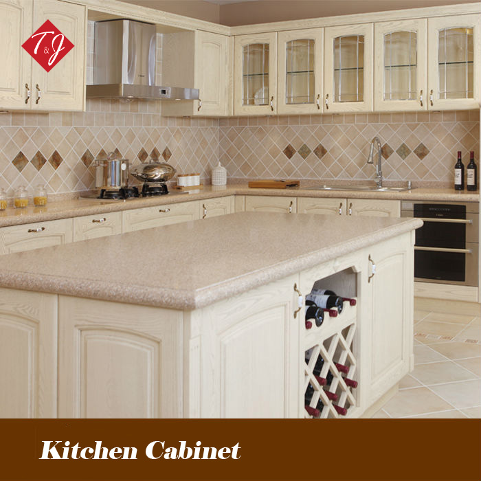Free design Modular kitchen furniture solid wood wholesales Kitchen cabinets with door-to-door service gabinete de cozinha SW08(China (Mainland))