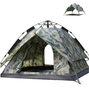 3~4 person automatic pop-up tent,army green camouflage tent,,have stock - Huangshan Wenny Outdoor products Co.,Ltd. store