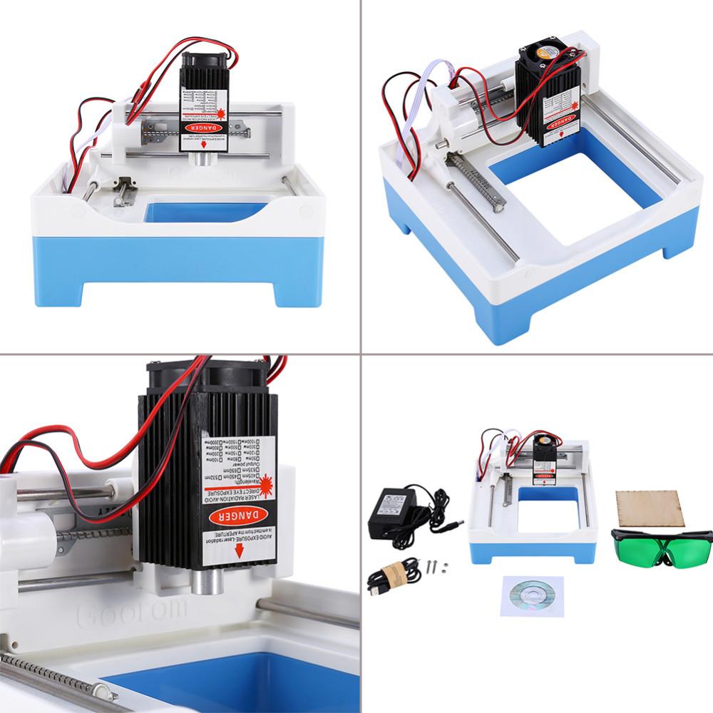 Купить Новый 500 МВт DIY USB Лазерная Резка Гравировальный Станок Гравер Лазерный Принтер, Маркировка Машина Хорошо Работает