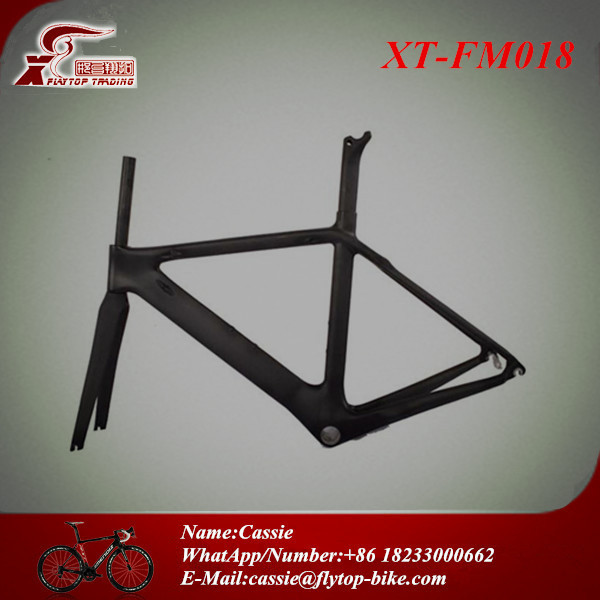 Full carbon road bike handlebar/carbon conjointed road bike frame(China (Mainland))