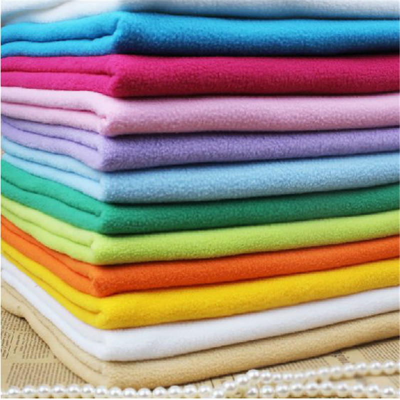 Polar fleece fabric, Patchwork fabric for sewing,coral cashmere felt handmade dolls doll clothing lining cloth,sale by meter(China (Mainland))