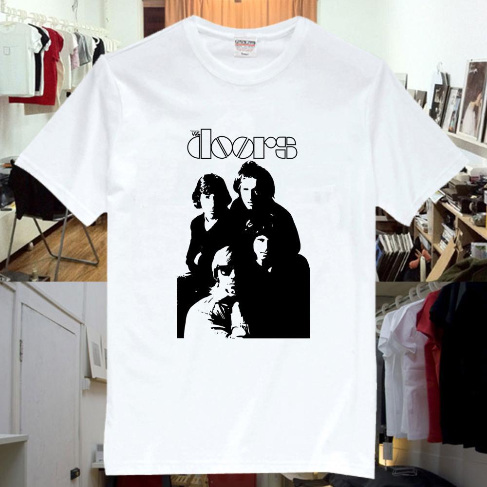 The Doors Rock Music Band Tee T-Shirts Unisex Mens Womens TD12(China (Mainland))