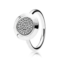 2015 European Style Rings Compatible With Pandora Jewelry Fashion Style Size #6-9 %100 925 Sterling Silver Women Ring JBDP2