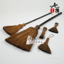 Coir brush euproctis besmirchers long-handled coir brush tea brush(China (Mainland))