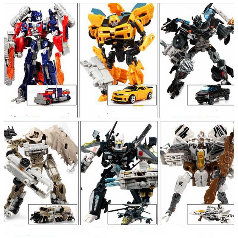 12 Style Original Box transformation 4 Optimus Pe Bumblebee Anime Robots Figures Car Toy Gifts For Kids Juguetes Brinquedos(China (Mainland))