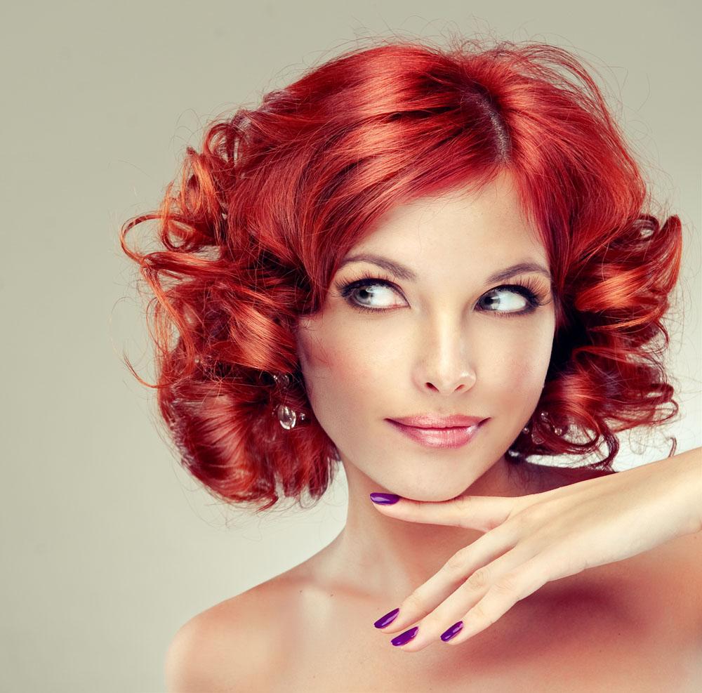 Красивая покраска волос стрижки