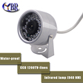 2016 SONY CCD 800TVL Mini CCTV Surveillance IR Dome Video Camera 940nm Night Vision Waterproof Outdoor
