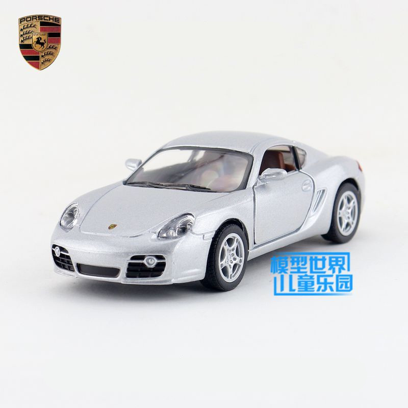 Free Shipping/1:34 Scale/Cayman S Sport Car/Education Model/Classical Pull back Diecast Metal toy car/For Collection/Kid's Gift(China (Mainland))