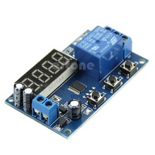 Digital LED Automation Delay Timer Control Switch Relay Module Display 12V New