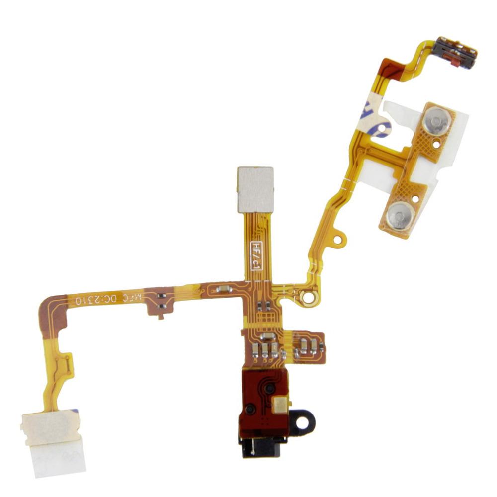 1Pcs Headphone Audio Jack Ribbon Flex Cable Replacement Part for iPhone 3G 3GS Wholesale(China (Mainland))