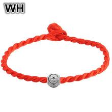 Trendy 2016 Mix Style Men Bracelet Red Rope Chain Beads Bracelets & Bangle Famous Brand Designer Jewelry Unisex Wholesale BC02