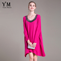 YuooMuoo High Quality Plus Size Newest Fashion 2016 Brand Autumn Women s Batwing Sleeve Beading V