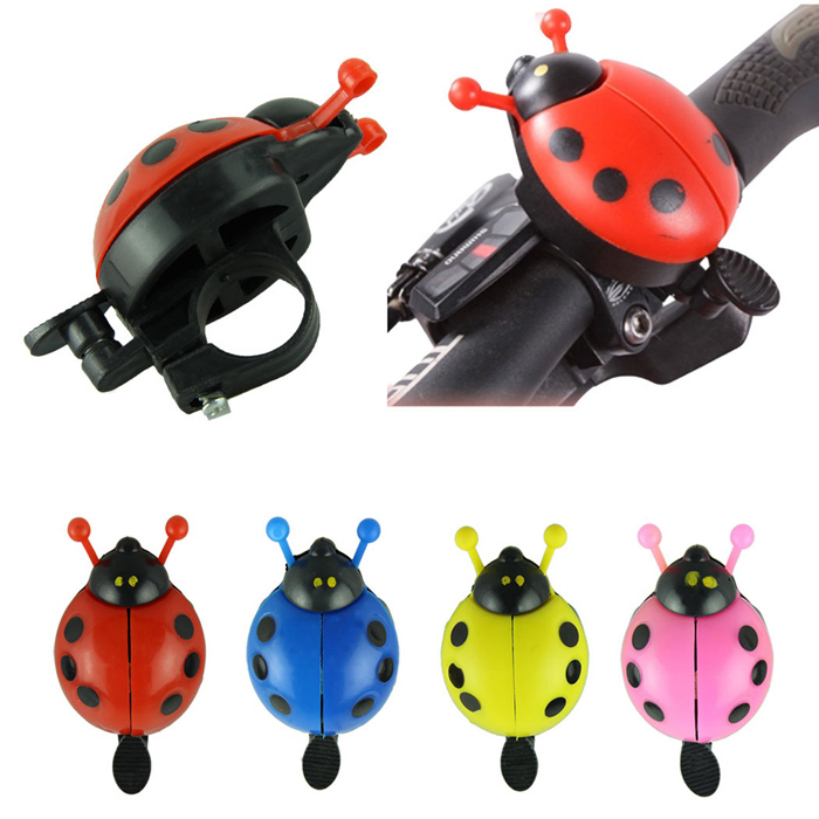 Amazing Funny Bicycle Bike Bell New Ladybug Cycling Bell Outdoor Sports Bike Ring Gifts for children kids(China (Mainland))