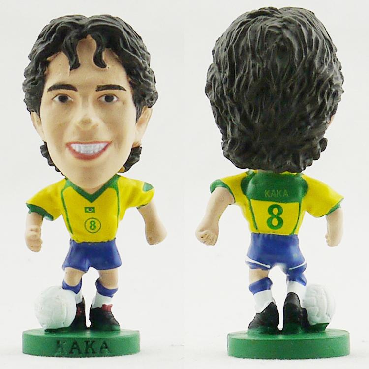 World Cup souvenirs the Brazilian national team soccer doll free KAKA shipping CORINTHIAN brand(China (Mainland))