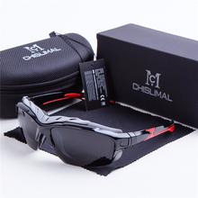 Neu CHISLIMAL Sport Fishing Eyewear Sun Glasses UV400 Outdoor Polarized Oculos de sol Spectacles Gafas de sol Riding Lunette 100(China (Mainland))