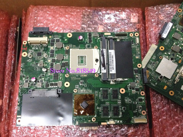 NEW K52J K52JR 1GB REV 2.0 / REV 2.3A Laptop Motherboard For ASUS system PC Mainboard,100% Tested ok,High Quality