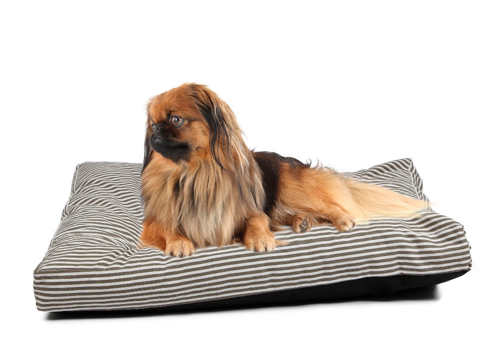 Pawz Road College Wind Soft Warm Dog Cushion Cover Black and White Stripe Bed Cover Pet Fleece Blanket Dog Bed Mat Cover(China (Mainland))