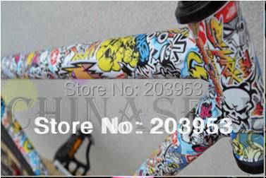 19pcs in stock bike bicycle frame repair sticker pattern stickers bicycle tube graffiti repair stickers free ship(China (Mainland))