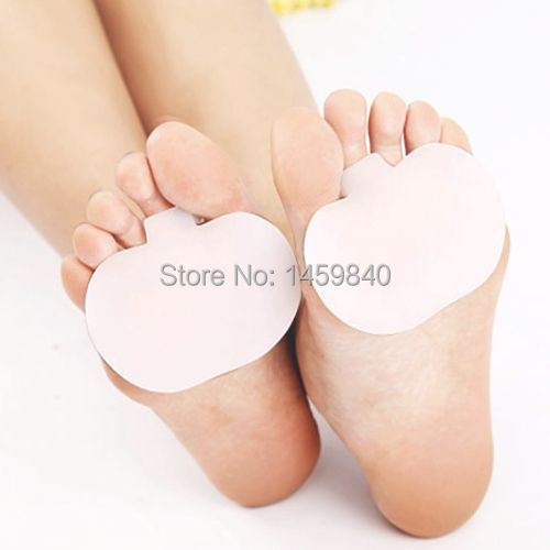 2 Pair Gel Metatarsal Pad Sore Ball Foot Feet Pain Cushion Forefoot Insoles Support(China (Mainland))