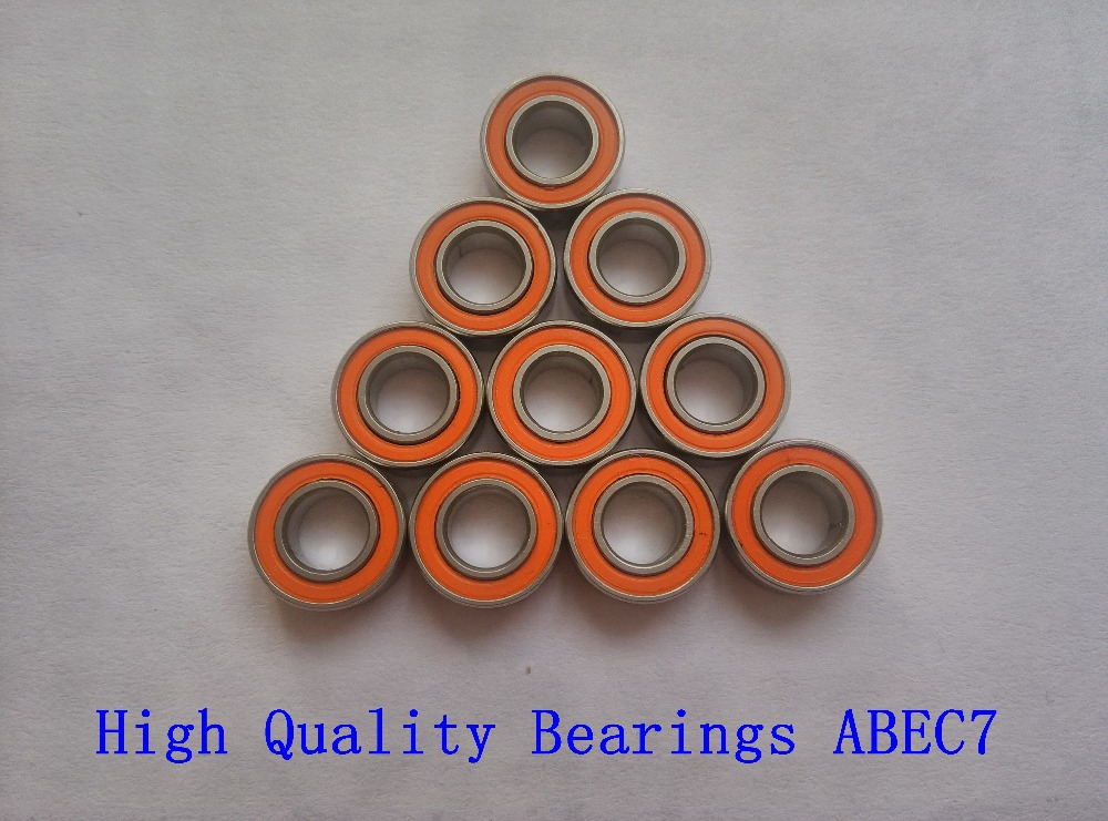 Free shipping 10PCS 5X11X4mm SMR115 2OS CB ABEC7 LD 5x11x4 Stainless steel hybrid ceramic ball bearing(China (Mainland))