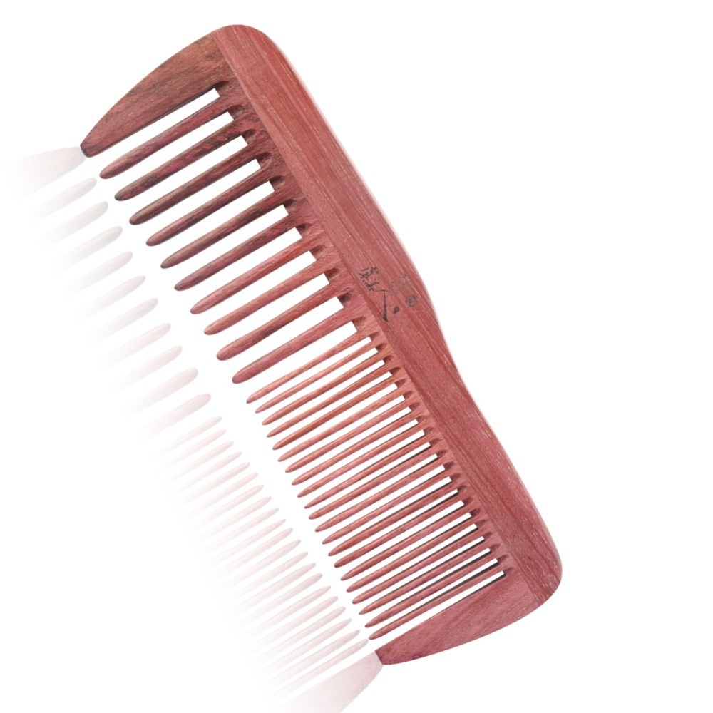 Purple hair comb professional teasing/back combing hair brush slim tangle elite tangle free brush massage brush hair growth(China (Mainland))