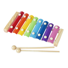 2016 New Wooden Xylophone For Children Kid Musical Toys Music Instrument Toy Free Shipping (China (Mainland))