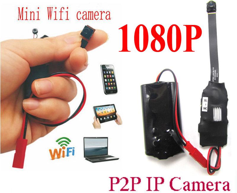 Mini Cam Wireless Spy WIFI Camera IP P2P Camcorder CCTV Camera Hidden Full HD 1080P Mini covert Video Camera Free Shipping(China (Mainland))