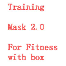 New Mask 2.0 High Altitude Mask Men Fitness Sport 2.0 Training Mask Outdoor Fitness Equipment Outernet mask training 2.0(China (Mainland))