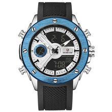 Hommes montre de luxe marque OLDENHOUR mode analogique numérique sport hommes montres étanche Silicone Quartz montre Relogio Masculino(China)