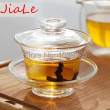 Free Shipping Bamboo Tea Tray Glass Tea Set Gaiwan Teacup Coffee Set Flower Pots Planters Coffee