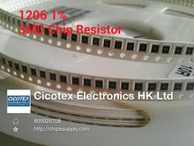 full reel 1% 1206 56R 56 OHMS 1/4W SMD Chip Resistor 5000pcs/reel YAGEO New Original Fixed - ICchip Supply store