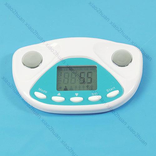 Digital Body Fat Analyzer Monitor Weight Loss Tester Free Shipping
