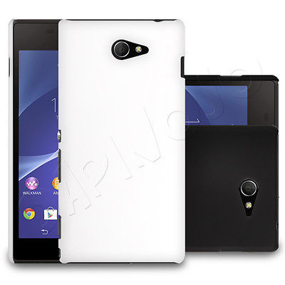 ULTRA SLIM PROTECTIVE HARD ARMOR COVER RUBBER FROSTED PLASTIC CASE SHELL FOR SONY XPERIA M2 S50h Fundas