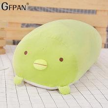 60 CM Tamanho Enorme de Alta Qualidade Japonês Animação Sumikko Gurashi Super Macio Brinquedos de Pelúcia San-X Bio Canto Dos Desenhos Animados bonito Travesseiro Do Bebê(China)