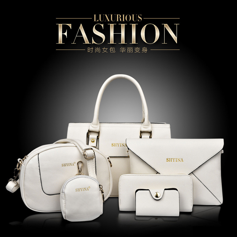 2015 New fashion women bag women messenger bags leather handbags ladies bag corssbody bags women mensageiro bolsas 6 pics 8072(China (Mainland))