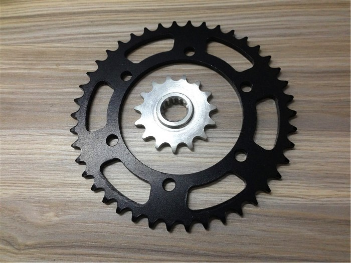 For around 400 Kawasaki ZRX400 westerly size sprocket gear tooth plate chain plate(China (Mainland))