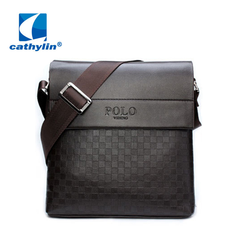 New Fashion men messenger bags leather male shoulder bag casual briefcase brand bags morer