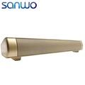 Powerful USB Mini Bluetooth Soundbar Perfect Sound HIFI Soundbar Speaker For Computer PC Tablet TV ETC