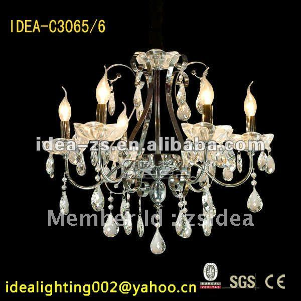 C3065-6 thanksgiving decorative amazing crystal chandelier lighting, Christmas decoration chandelier(China (Mainland))