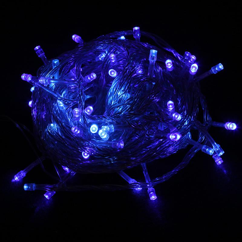 80 led white blue christmas wedding party decoration led string lights