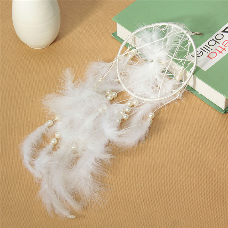 New Arrival Indian Dreamcatcher Feathers Bells Home Hanging Decoration Manual Pretect Gifts Holiday Dream catcher