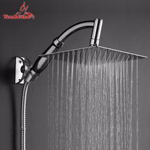 8 inch Shower Head Bathroom Showers Rotate 360 degree Stainless Steel Hand Held Showerhead Sprayer Large Rainfall Shower Head(China (Mainland))