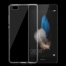 ultra-thin 0.3mm Soft Transparent Clear TPU Case Original Huawei P8 Lite P7 P9 Plus Mate 8 7 S Honor 5C 5X 6 G8 - chuyuestyle store