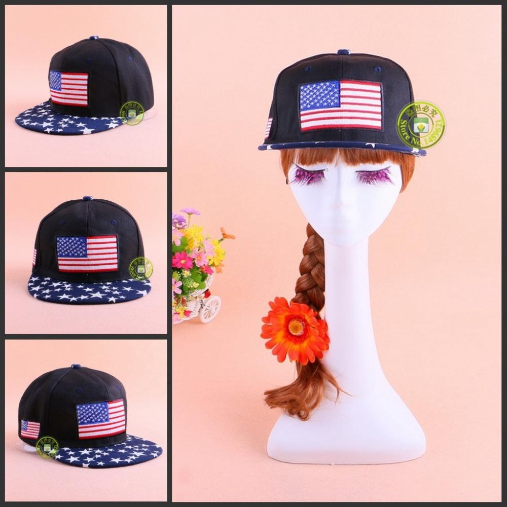 علم الولايات المتحدة الأمريكية العلامة التجارية الجديدة أفضل نوعية snapback القبعات قبعات البيسبول للرجال صيف الرياضة snapbacks أزياء قبعة قبعة الهيب البوب العظام(China (Mainland))