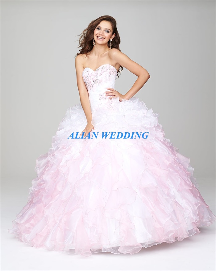 Online Get Cheap White and Pink Quinceanera Dresses -Aliexpress ...
