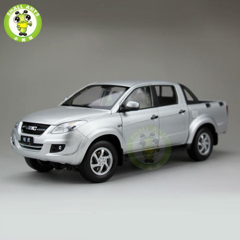 1:18 Scale China JiangLing JMC Pickup Truck Diecast Car Model Silver(China (Mainland))