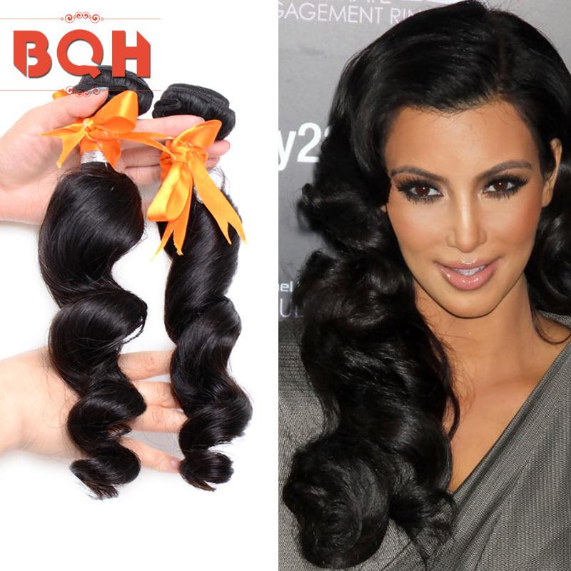 Cheap Peruvian Loose Wave 3 Lots,Wholesale Beauty 7A Unprocessed Virgin Hair Bundles,Buy Human Hair Loose Wave Hair Products(China (Mainland))