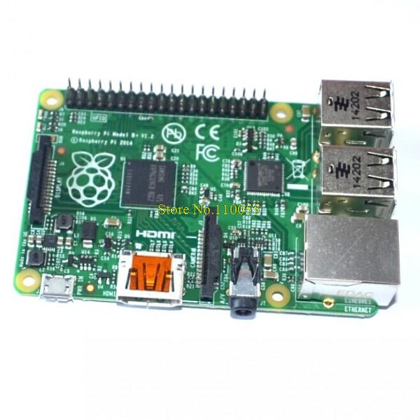 Free Shipping ! Rev 3.0 512 ARM Raspberry Pi Project Board Model B+ version Improved version make in UK !(China (Mainland))