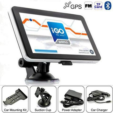 7  дюймовый mediatek gps навигатор с 8 гб 256 мб fmt электронная mp3 mp4 глобальными картами