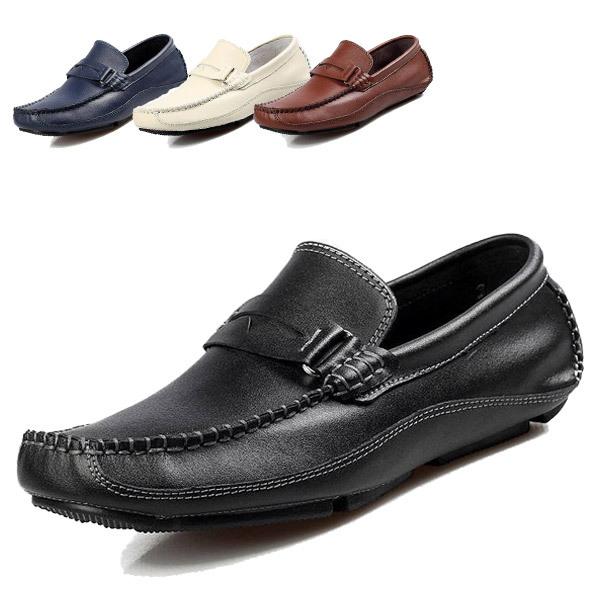 Высокое качество натуральная кожа мужчины мокасины обувь мода свободного покроя резиновые ...